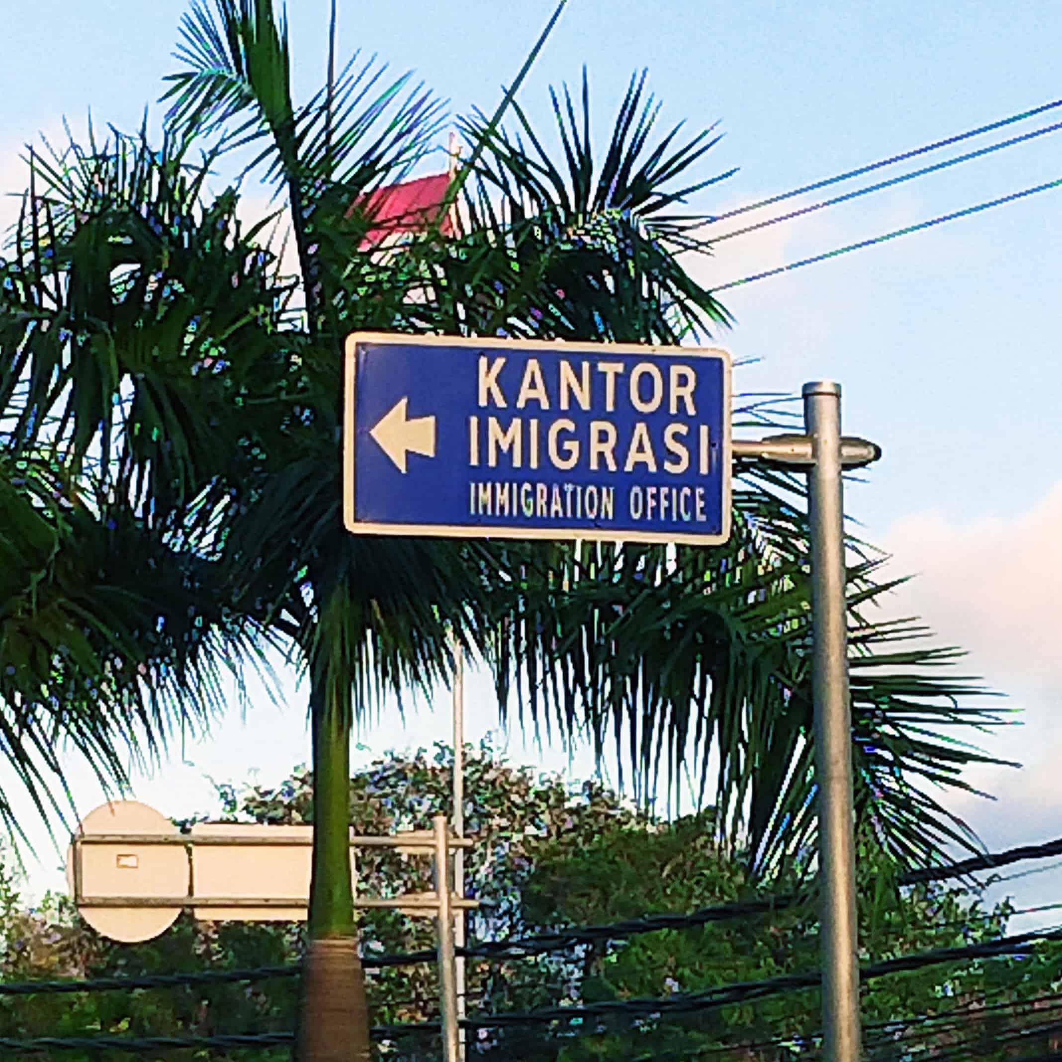 tanda jalan imigrasi